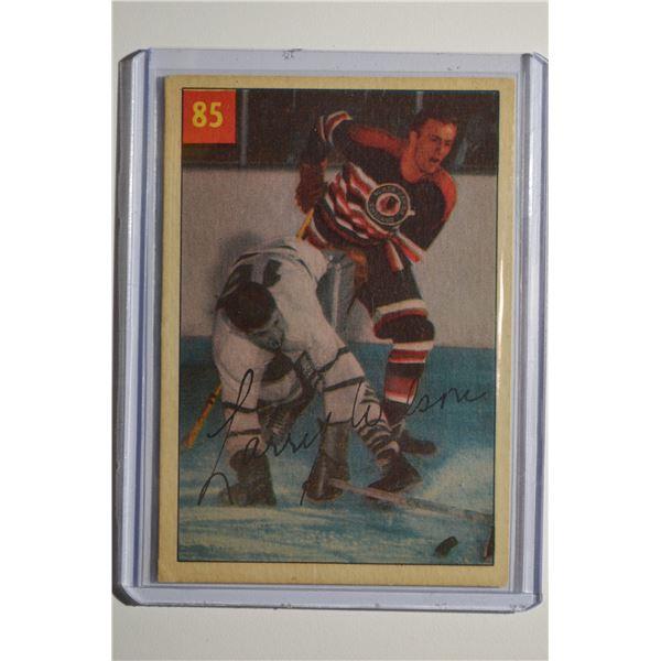 1954-55 Parkhurst #85 Larry Wilson