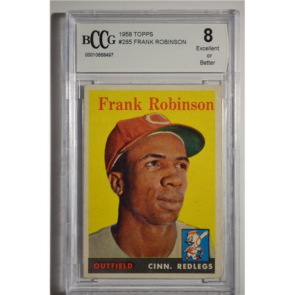1958 Topps #285 Frank Robinson