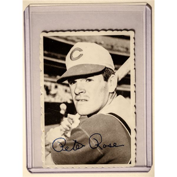 1969 Topps Deckle Edge #21 Pete Rose