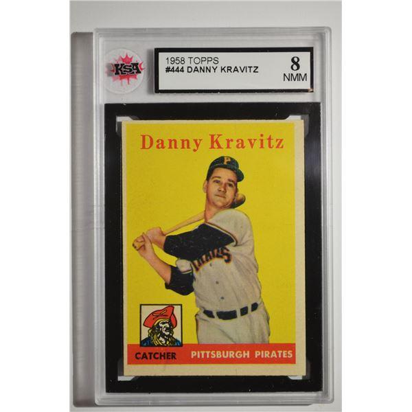 1958 Topps #444 Danny Kravitz