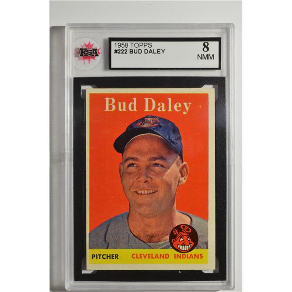 1958 Topps #222 Bud Daley ROOKIE