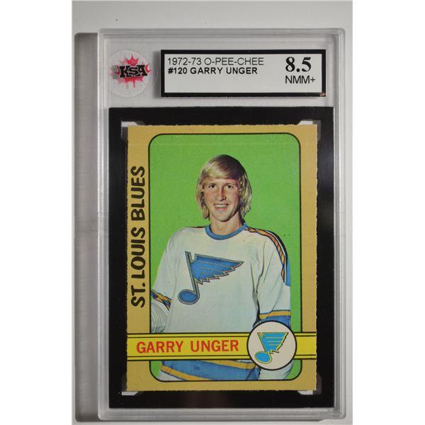 1972-73 O-Pee-Chee #120 Garry Unger
