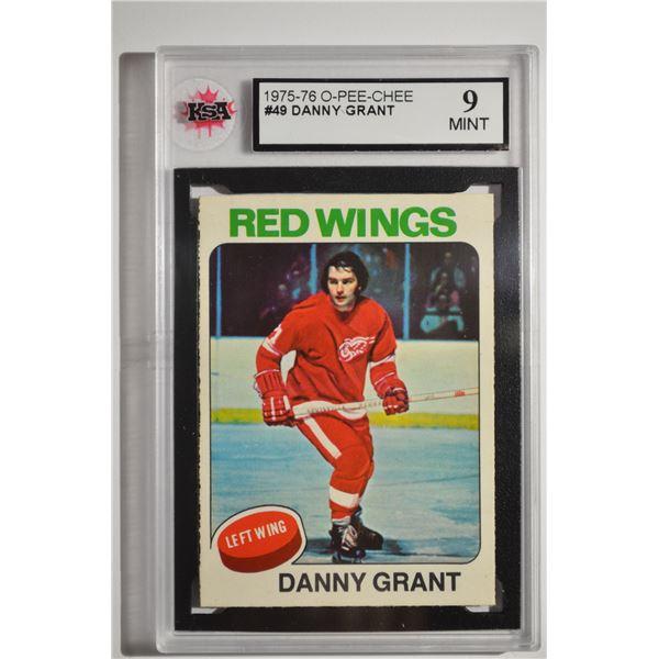 1975-76 O-Pee-Chee #49 Danny Grant
