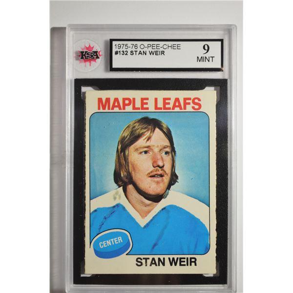 1975-76 O-Pee-Chee #132 Stan Weir