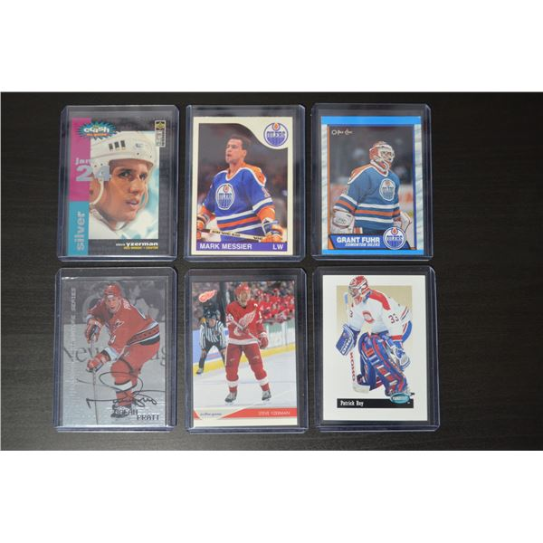Mixed Lot (6 Cards)