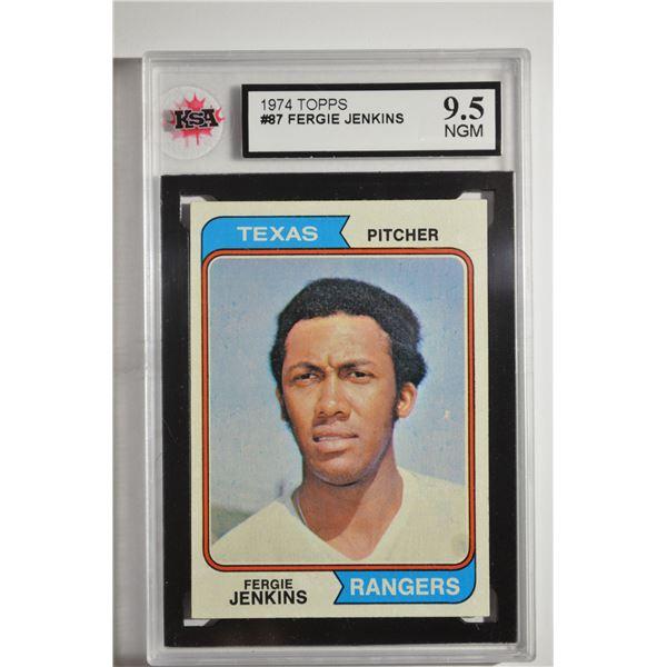 1974 Topps #87 Fergie Jenkins