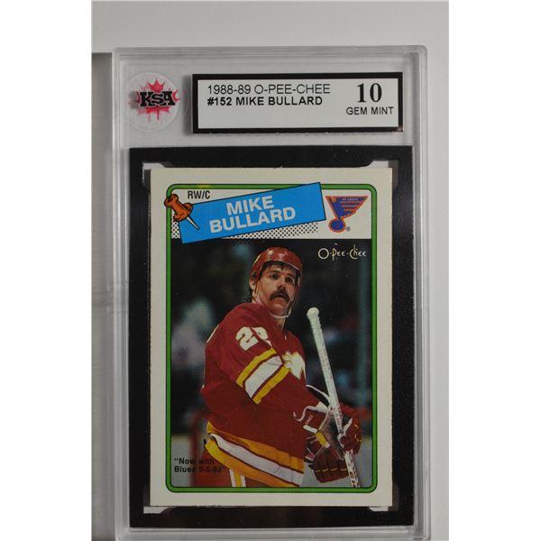 1988-89 O-Pee-Chee #152 Mike Bullard
