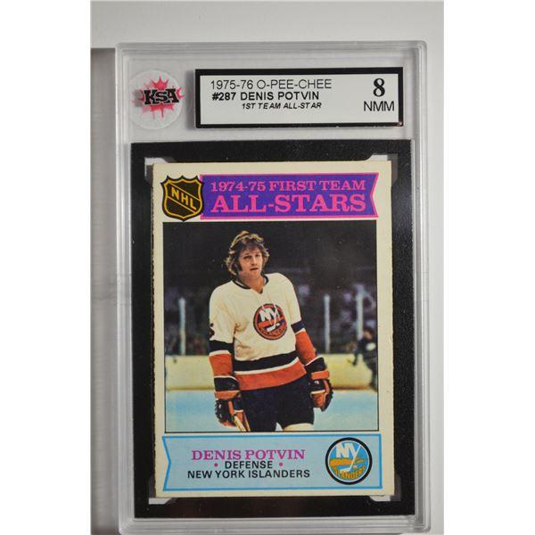 1975-76 O-Pee-Chee #287 Denis Potvin AS1