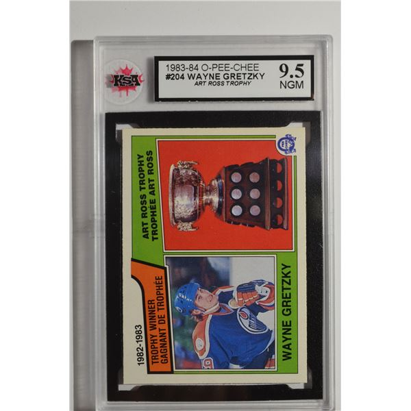 1983-84 O-Pee-Chee #204 Wayne Gretzky Ross