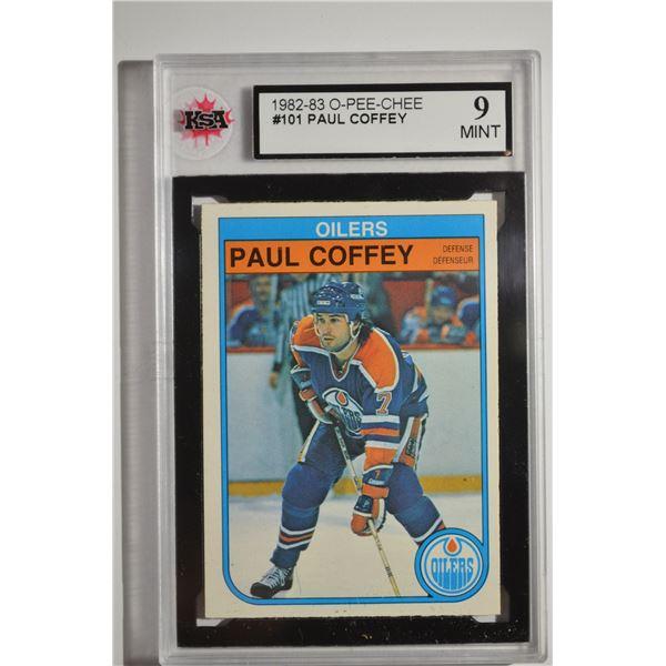 1982-83 O-Pee-Chee #101 Paul Coffey