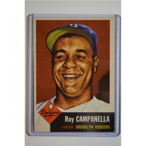 1953 Topps #27 Roy Campanella DP