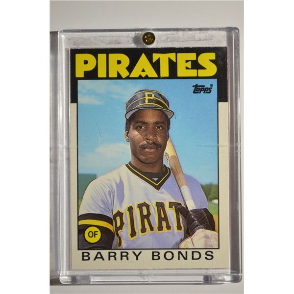 1986 Topps Traded #11T Barry Bonds