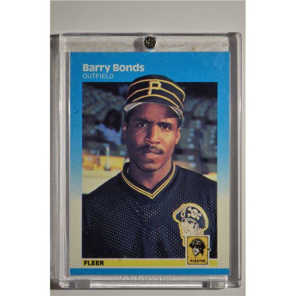 1987 Fleer #604 Barry Bonds ROOKIE