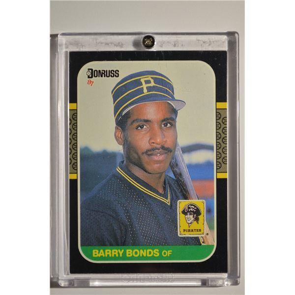 1987 Donruss #361 Barry Bonds ROOKIE