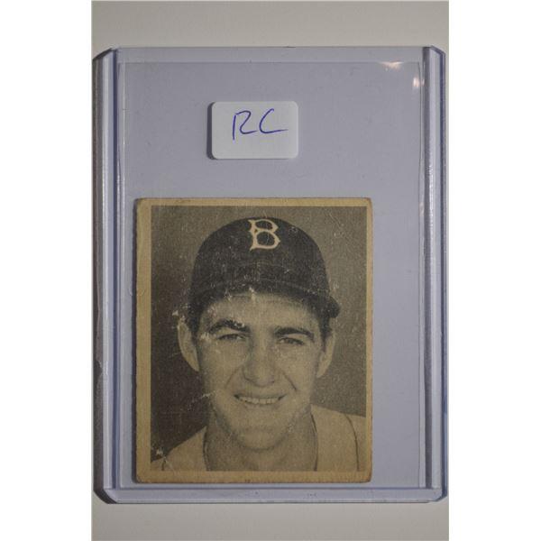 1948 Bowman #41 Rex Barney ROOKIE - RARE