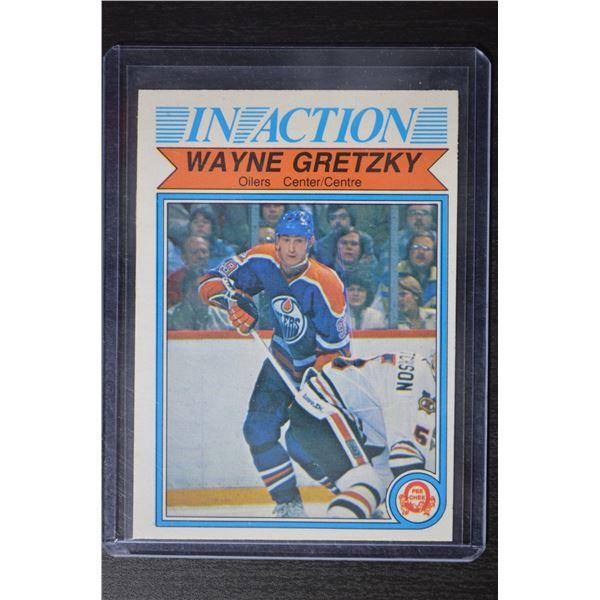1982-83 O-Pee-Chee #107 Wayne Gretzky IA