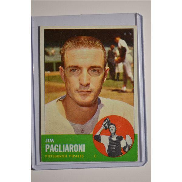 1963 Topps #159 Jim Pagliaroni