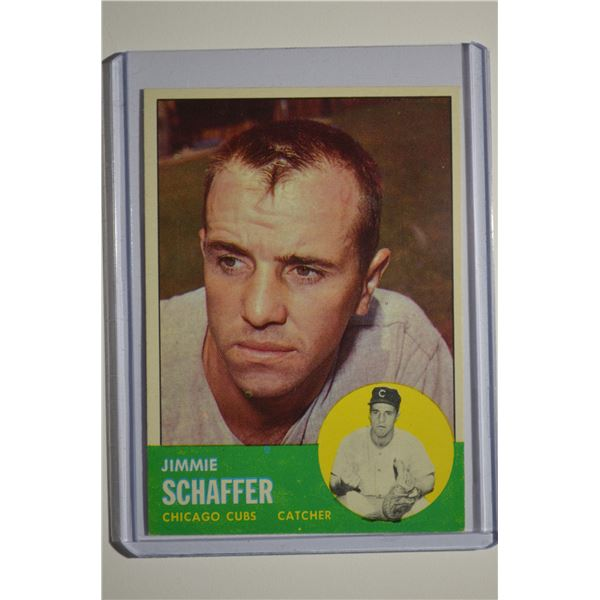 1963 Topps #81 Jim Schaffer