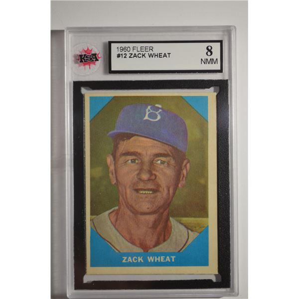 1960 Fleer #12 Zach Wheat