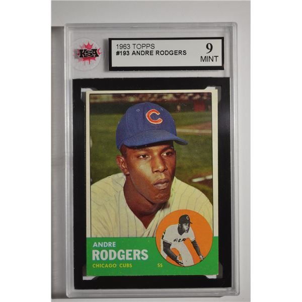 1963 Topps #193 Andre Rodgers