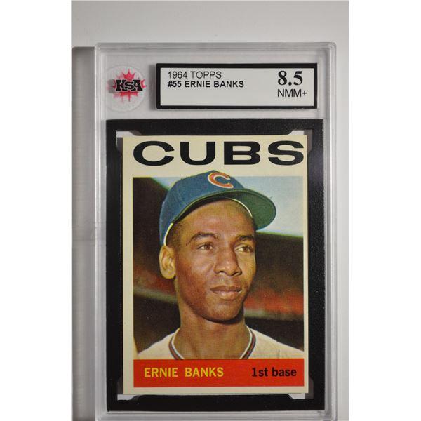 1964 Topps #55 Ernie Banks