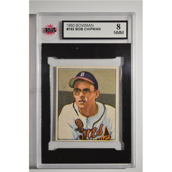1950 Bowman #192 Bob Chipman