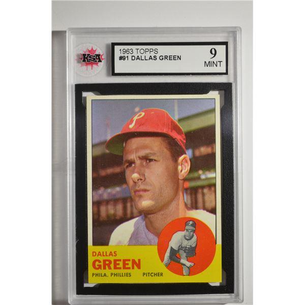 1963 Topps #91 Dallas Green