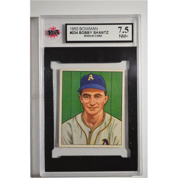 1950 Bowman #234 Bobby Shantz ROOKIE