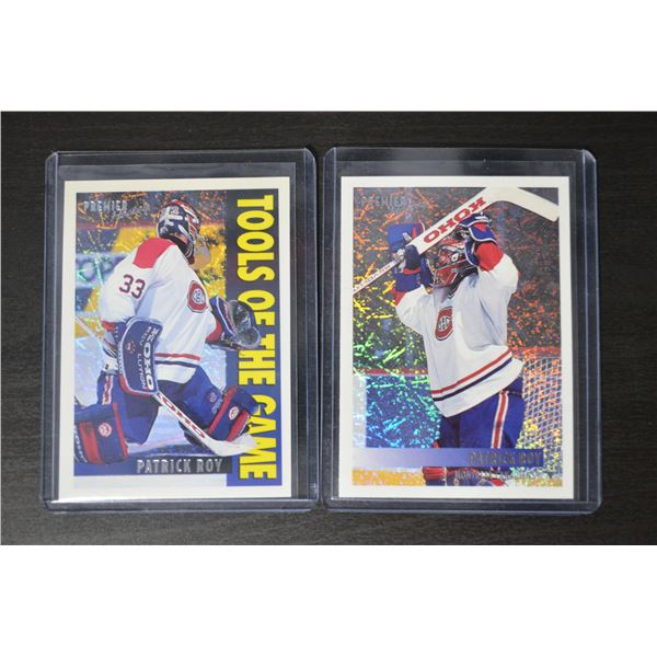 Patrick Roy - Topps Premier Special Effects (2)