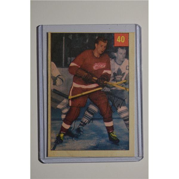 1954-55 Parkhurst #40 Glen Skov