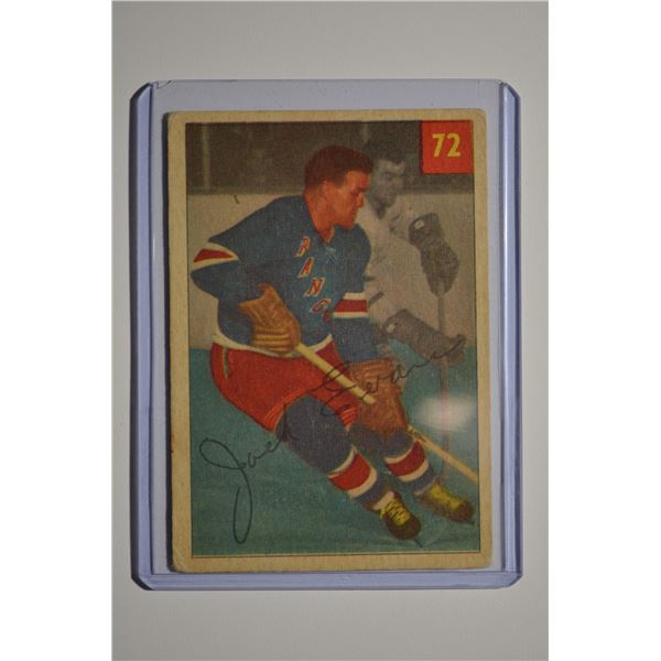 1954-55 Parkhurst #72 Jack Evans