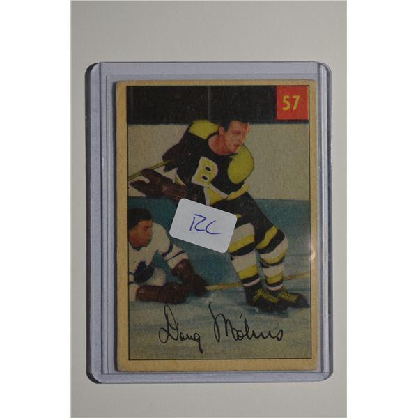 1954-55 Parkhurst #57 Doug Mohns ROOKIE