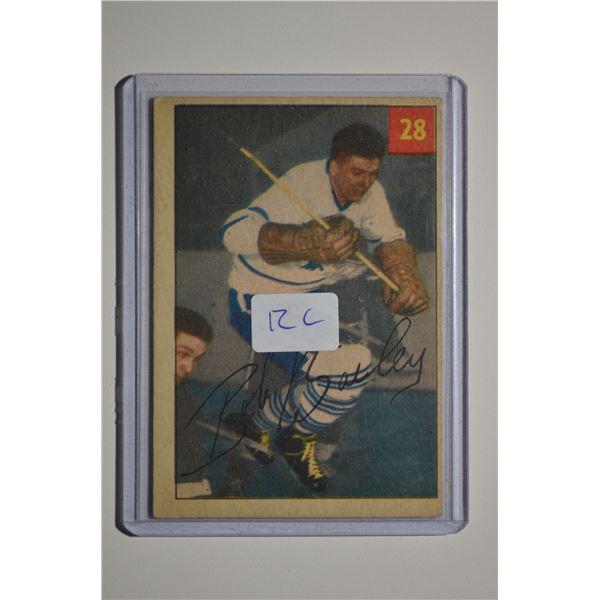 1954-55 Parkhurst #28 Bob Bailey ROOKIE