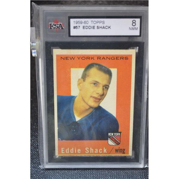 1959-60 Topps #57 Eddie Shack