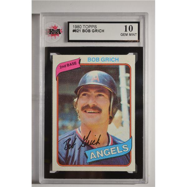 1980 Topps #621 Bob Grich