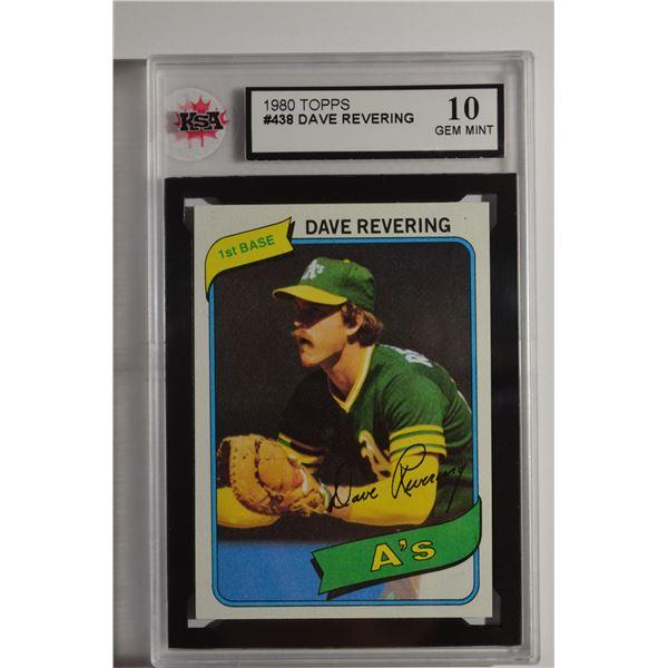 1980 Topps #438 Dave Revering