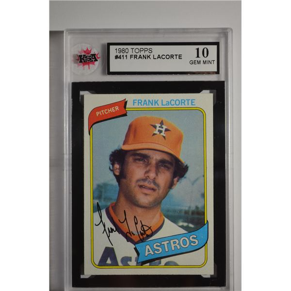 1980 Topps #411 Frank LaCorte