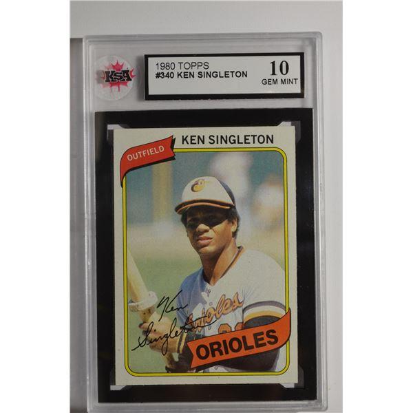1980 Topps #340 Ken Singleton