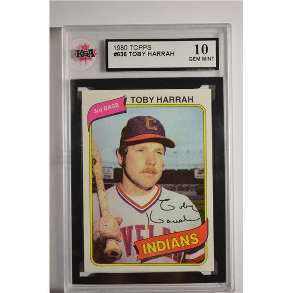1980 Topps #636 Toby Harrah