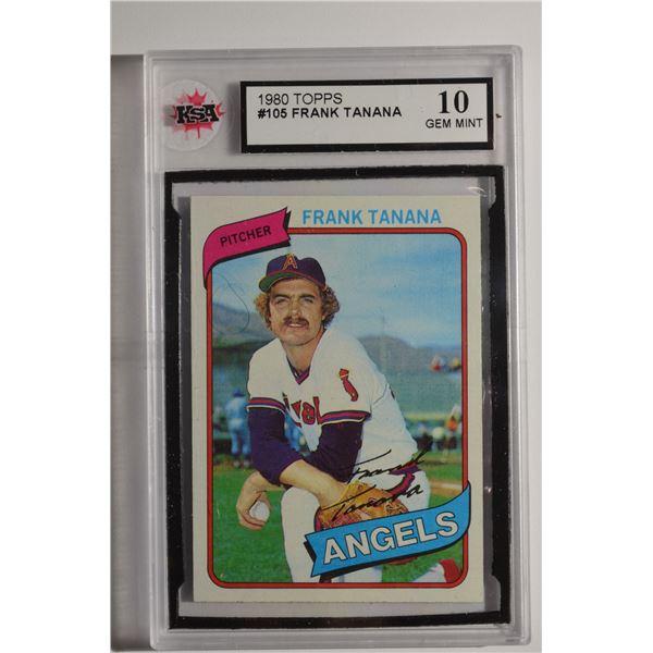 1980 Topps #105 Frank Tanana