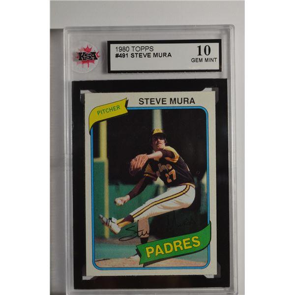 1980 Topps #491 Steve Mura DP
