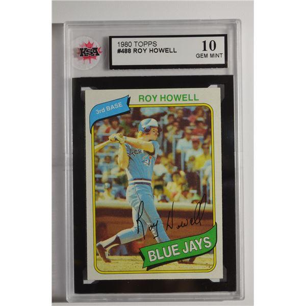 1980 Topps #488 Roy Howell