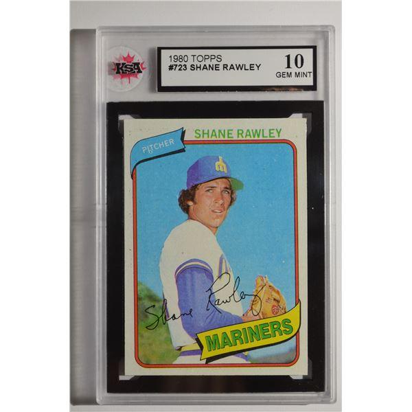 1980 Topps #723 Shane Rawley
