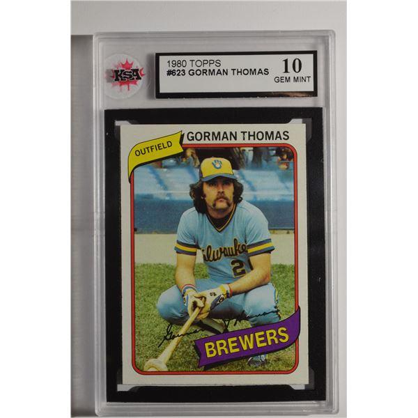 1980 Topps #623 Gorman Thomas