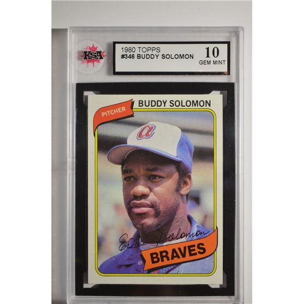 1980 Topps #346 Buddy Solomon