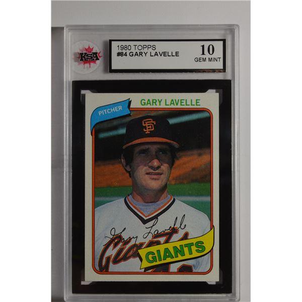 1980 Topps #84 Gary Lavelle