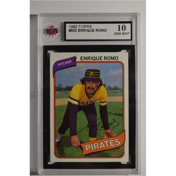 1980 Topps #332 Enrique Romo