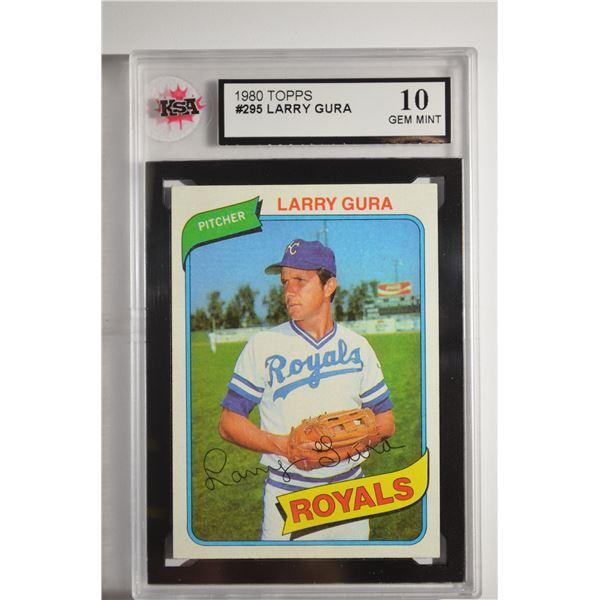 1980 Topps #295 Larry Gura