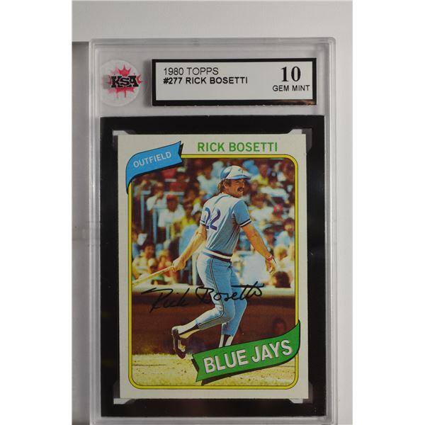 1980 Topps #277 Rick Bosetti