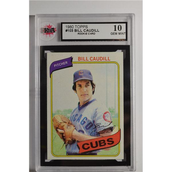 1980 Topps #103 Bill Caudill ROOKIE